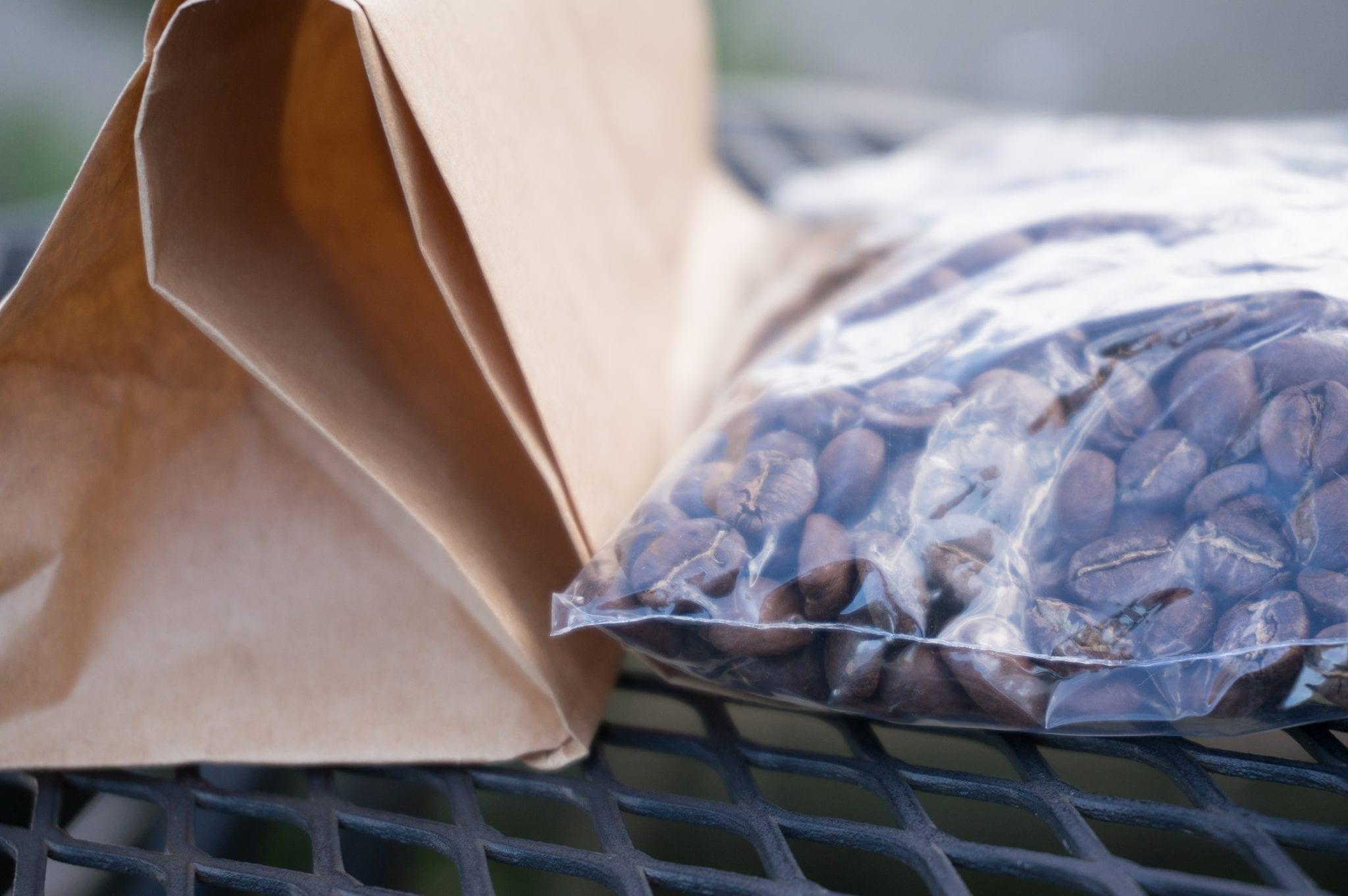 Coffee Magazine - Coffee in a Ziplock Bag