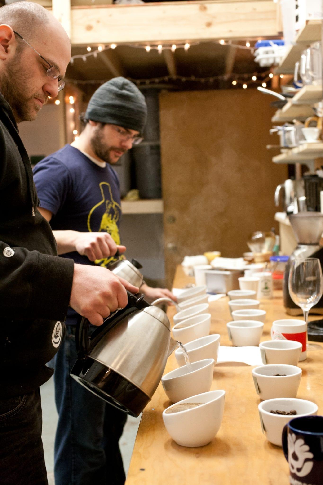 Coffee Magazine - Cupping Coffee